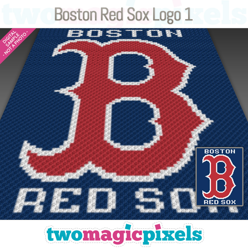 Boston Red Sox Logo 1 by Two Magic Pixels