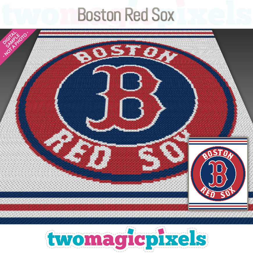 Boston Red Sox by Two Magic Pixels