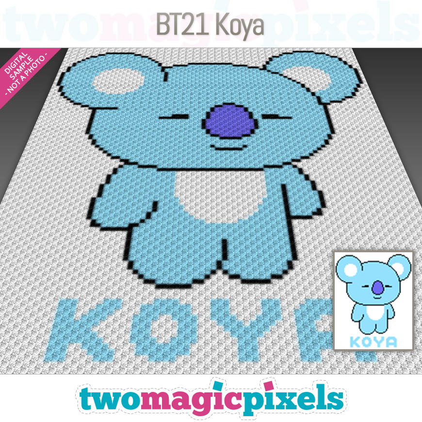 BT21 Koya by Two Magic Pixels