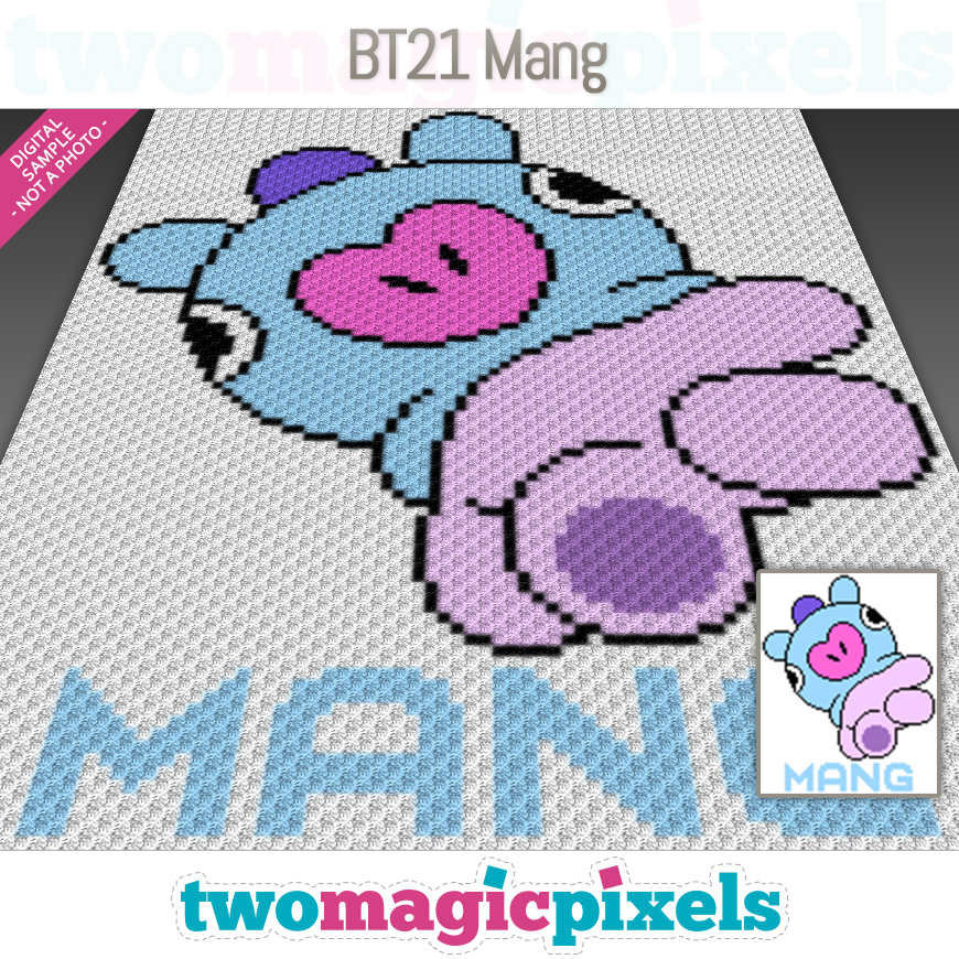 BT21 Mang by Two Magic Pixels