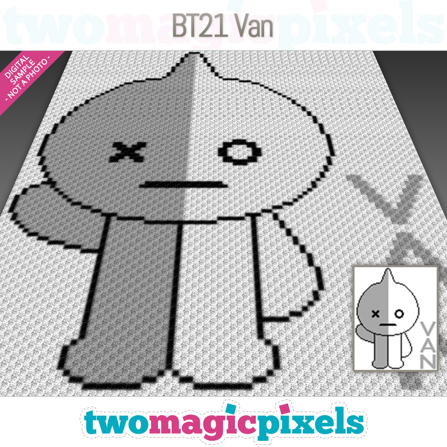 BT21 Van by Two Magic Pixels