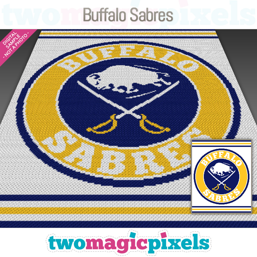 Buffalo Sabres by Two Magic Pixels