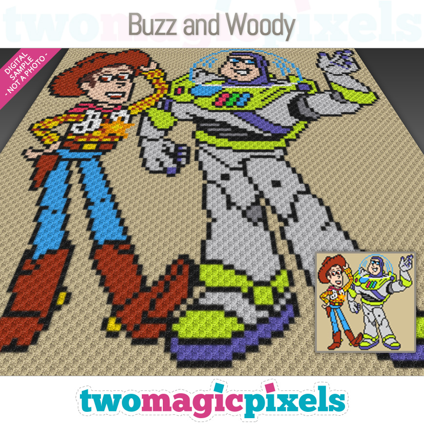 Buzz and Woody by Two Magic Pixels