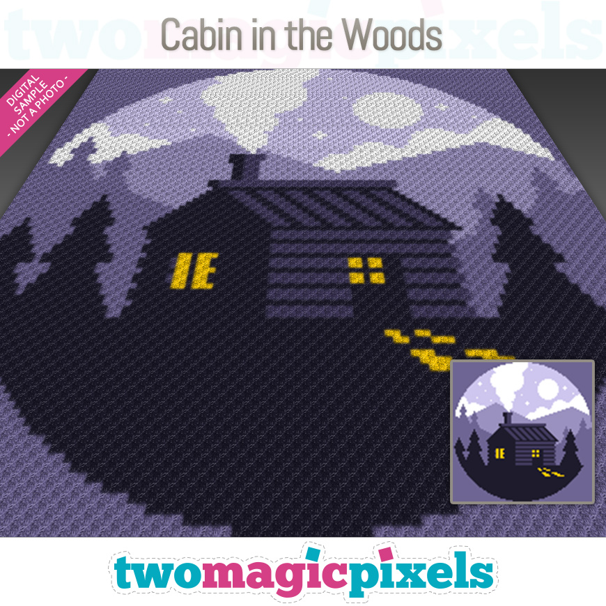 Cabin in the Woods by Two Magic Pixels