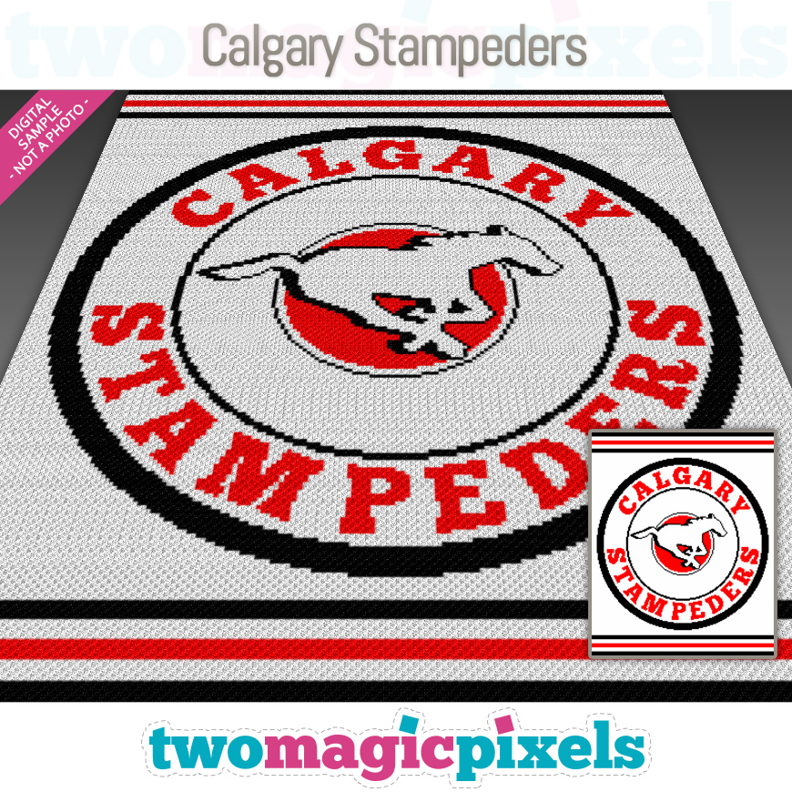Calgary Stampeders by Two Magic Pixels
