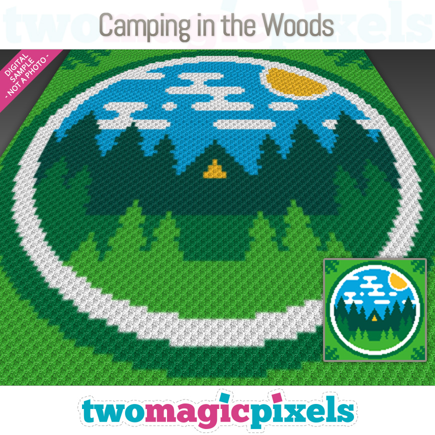 Camping in the Woods by Two Magic Pixels
