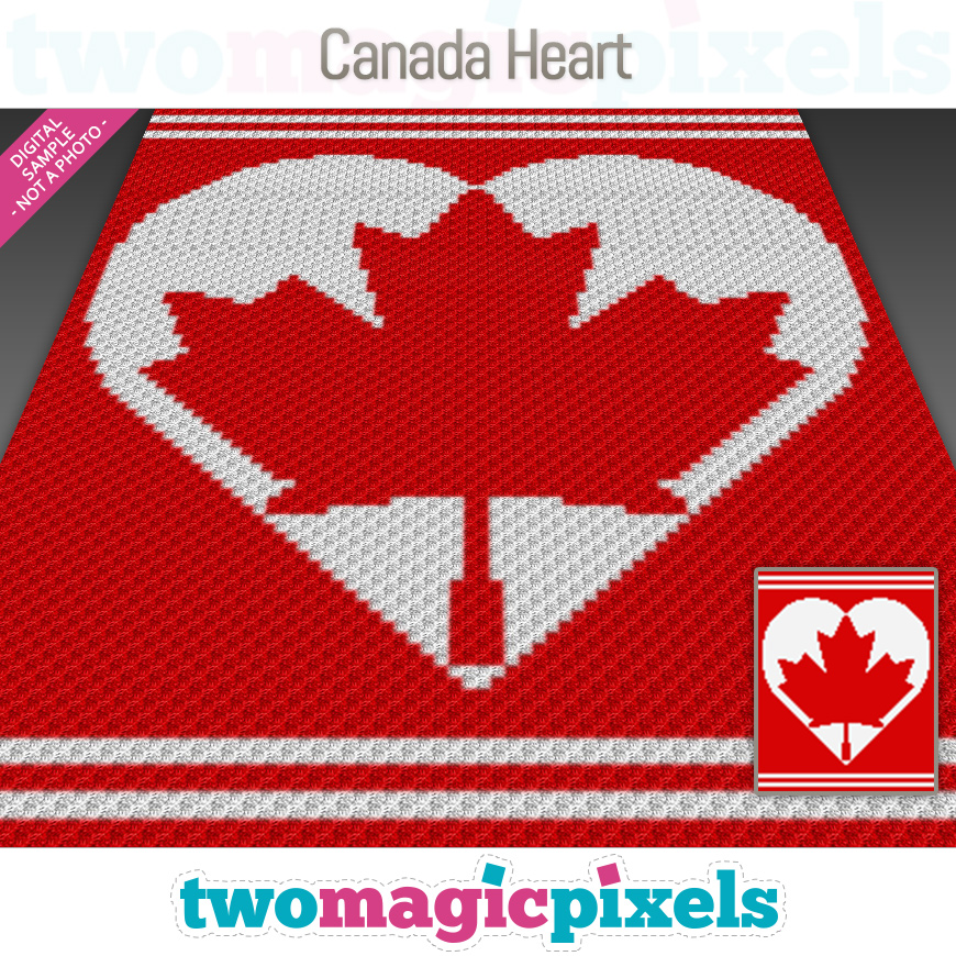 Canada Heart by Two Magic Pixels