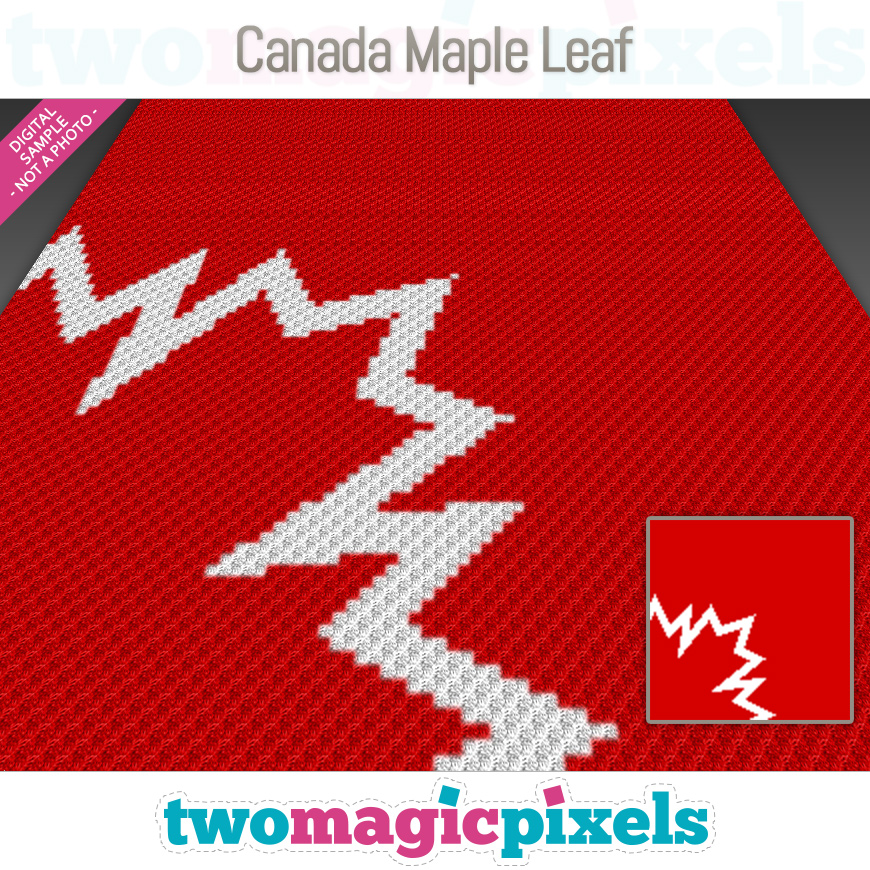 Canada Maple Leaf by Two Magic Pixels