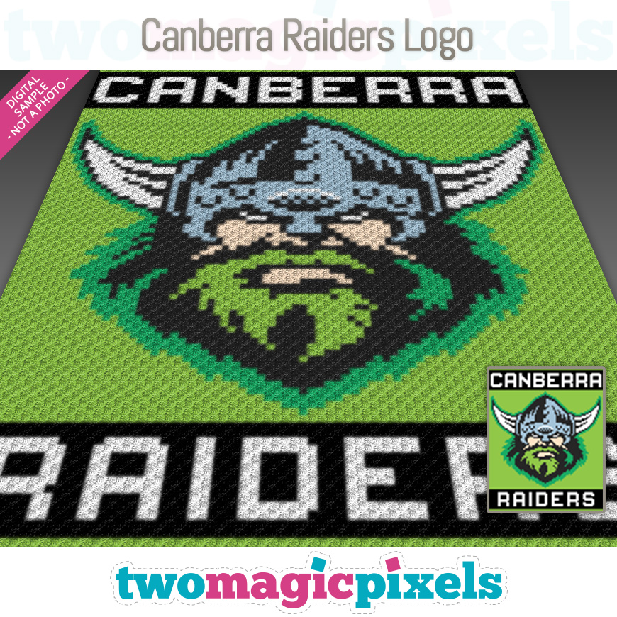 Canberra Raiders Logo by Two Magic Pixels