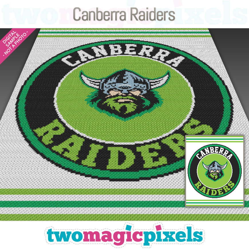 Canberra Raiders by Two Magic Pixels