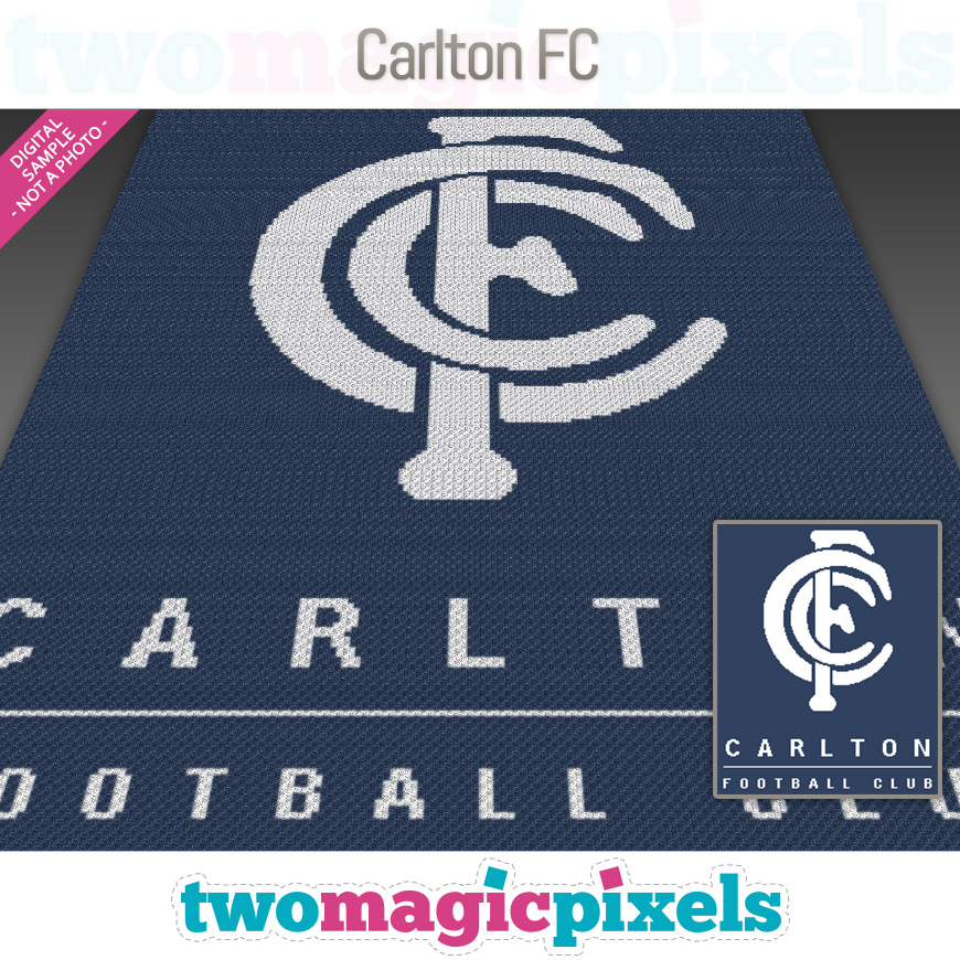 Carlton FC by Two Magic Pixels