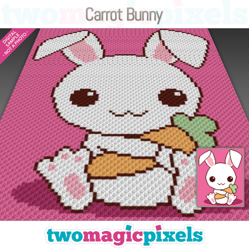 Carrot Bunny by Two Magic Pixels