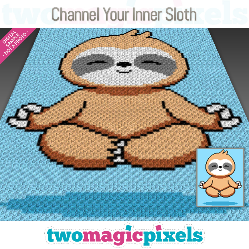Channel Your Inner Sloth by Two Magic Pixels