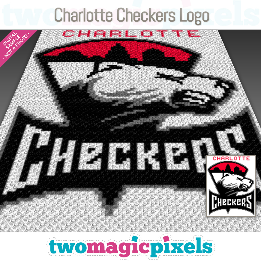 Charlotte Checkers Logo by Two Magic Pixels