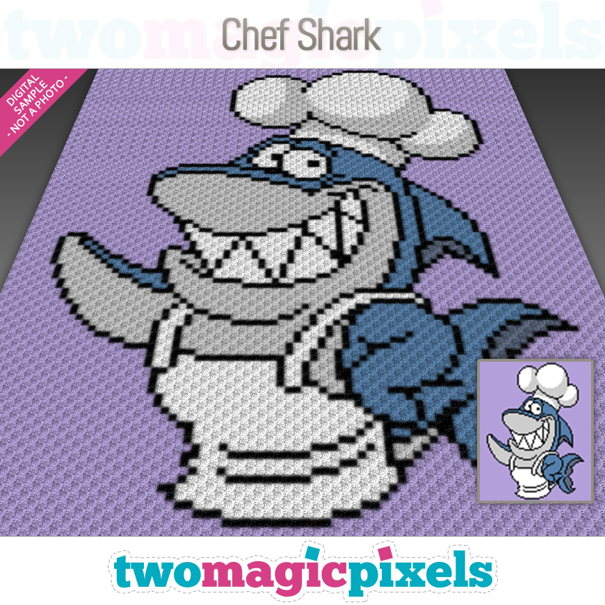 Chef Shark by Two Magic Pixels