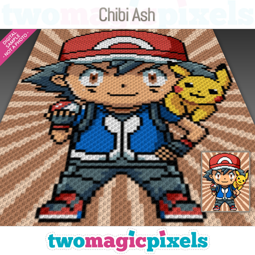 Chibi Ash by Two Magic Pixels