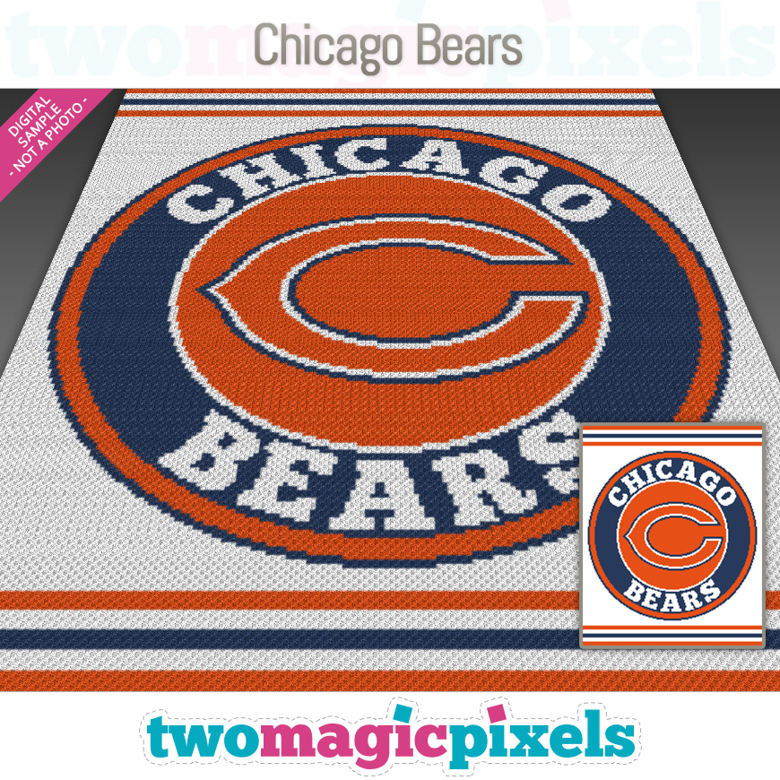 Chicago Bears by Two Magic Pixels