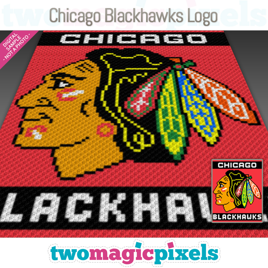 Chicago Blackhawks Logo by Two Magic Pixels