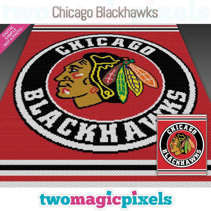 Chicago Blackhawks by Two Magic Pixels