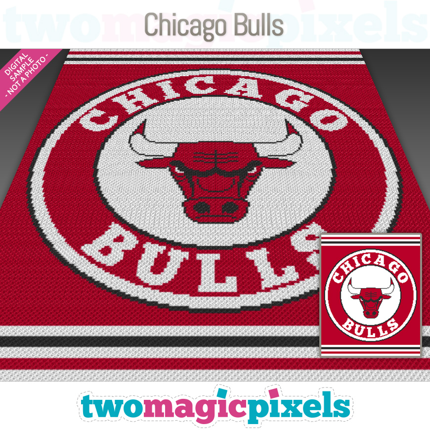 Chicago Bulls by Two Magic Pixels