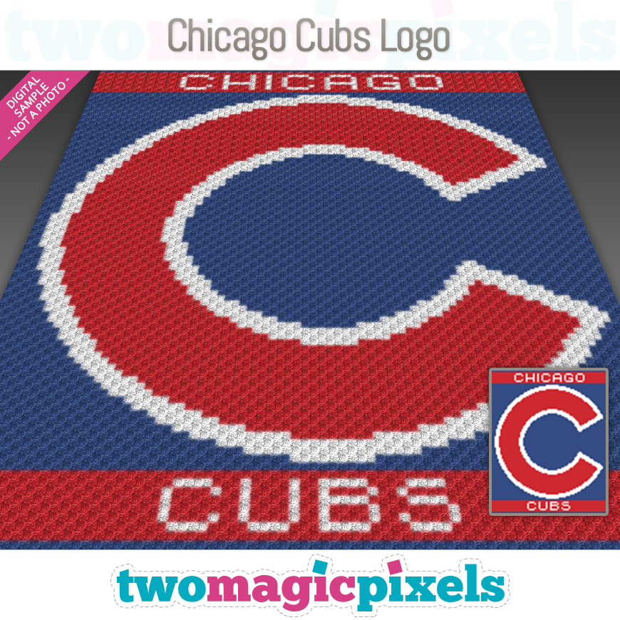 Chicago Cubs Logo by Two Magic Pixels
