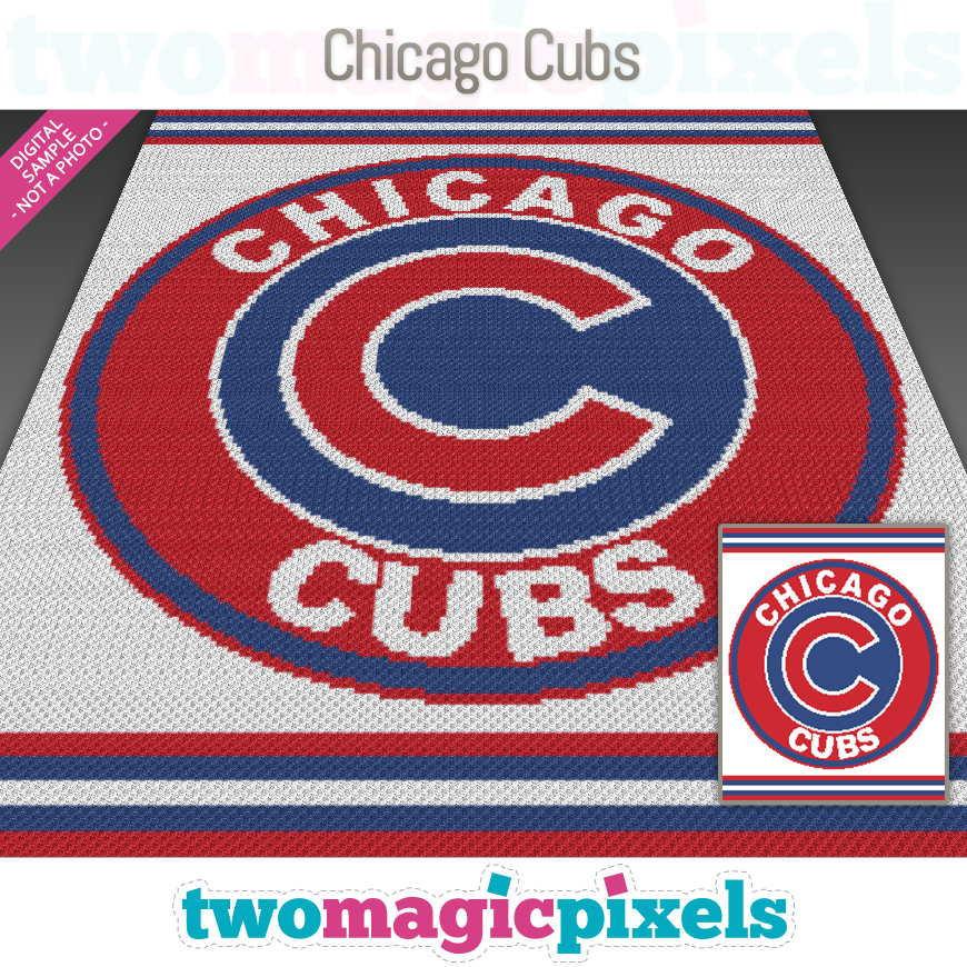Chicago Cubs by Two Magic Pixels
