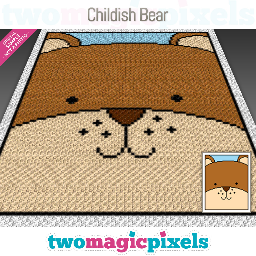 Childish Bear by Two Magic Pixels