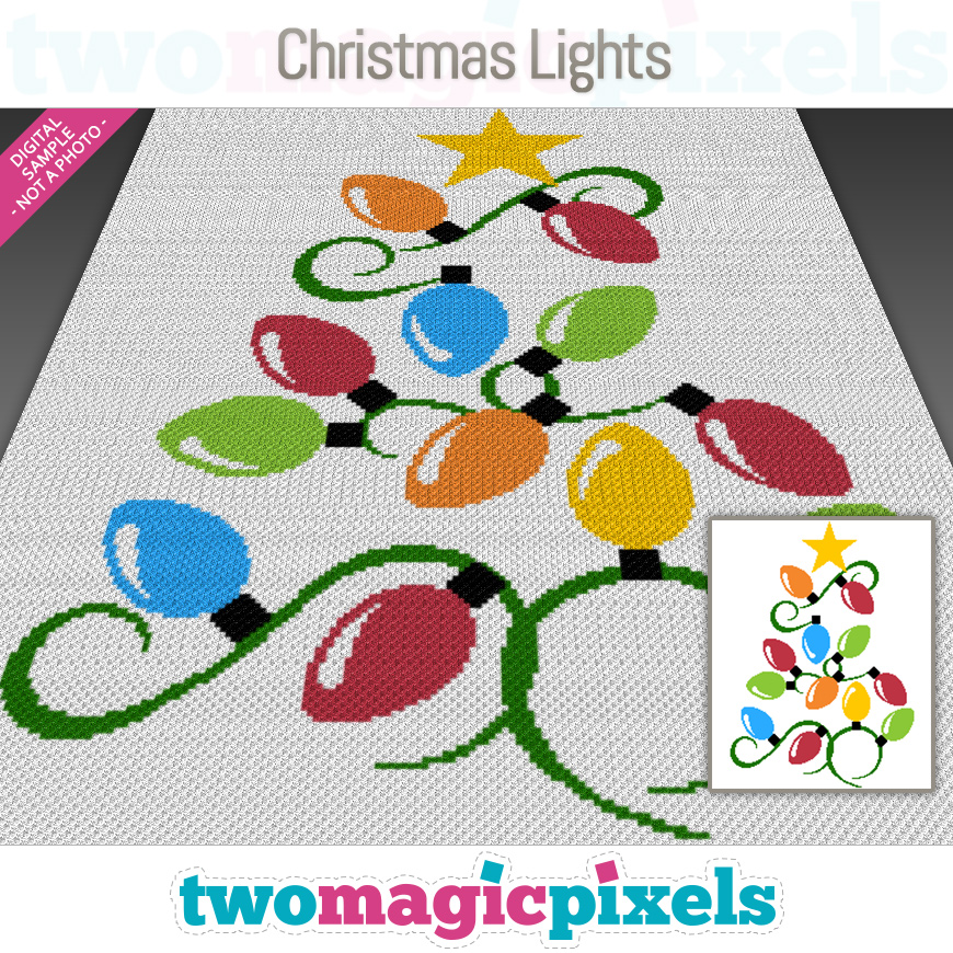 Christmas Lights by Two Magic Pixels