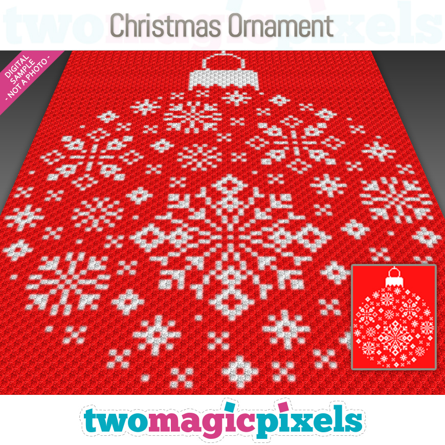 Christmas Ornament by Two Magic Pixels