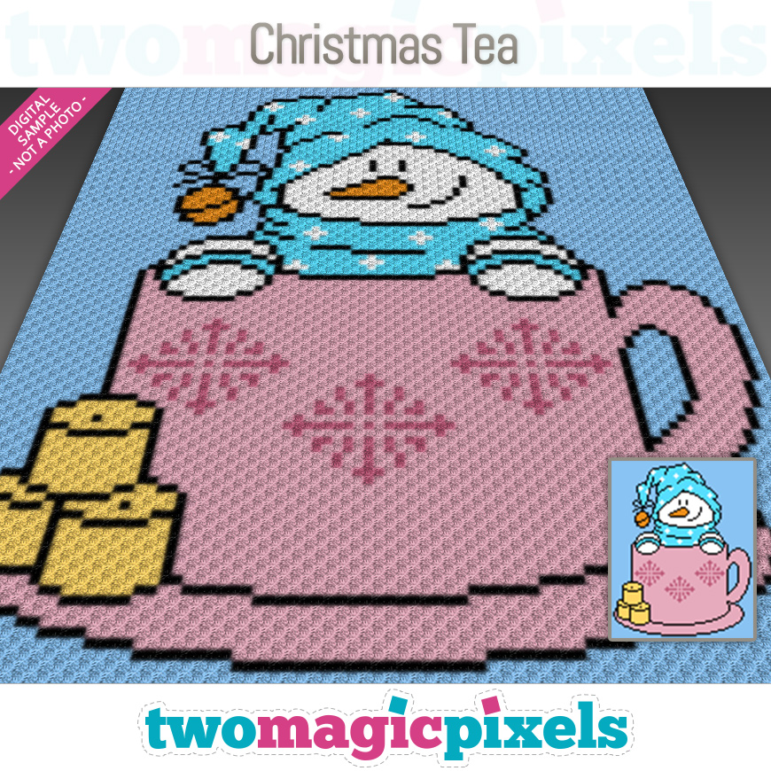 Christmas Tea by Two Magic Pixels
