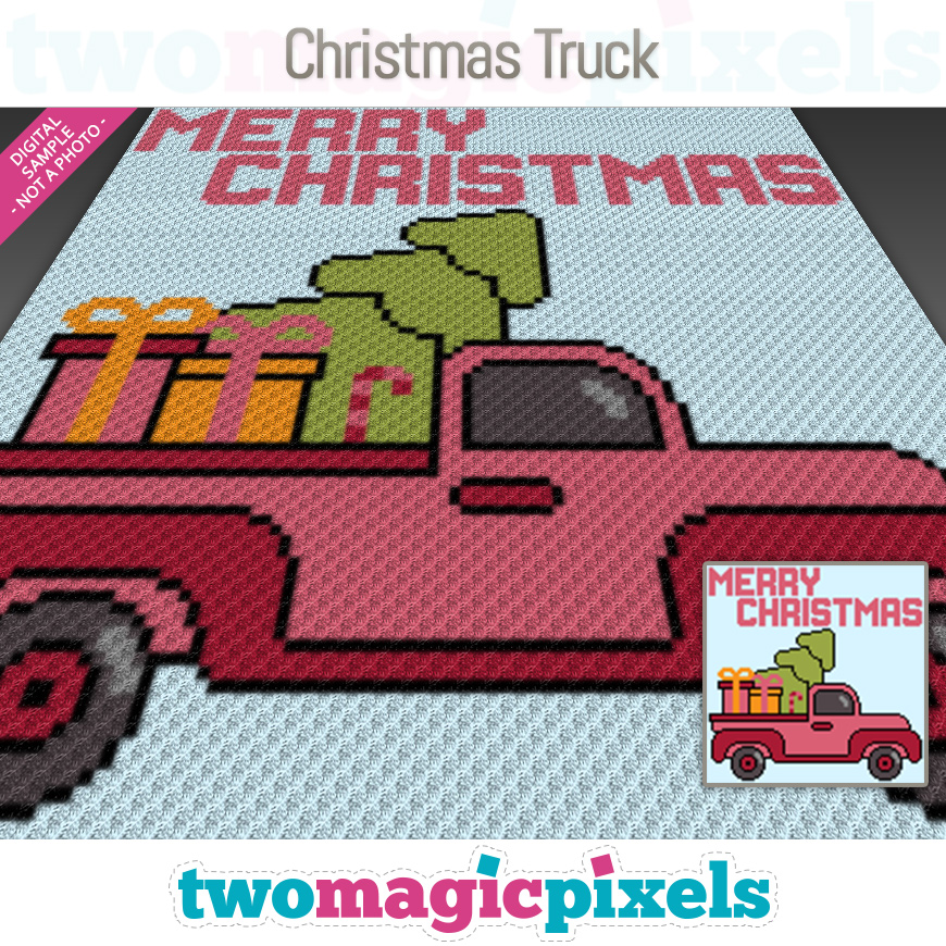 Christmas Truck by Two Magic Pixels