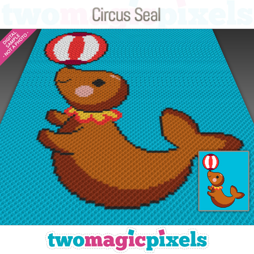 Circus Seal by Two Magic Pixels
