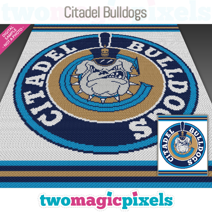 Citadel Bulldogs by Two Magic Pixels