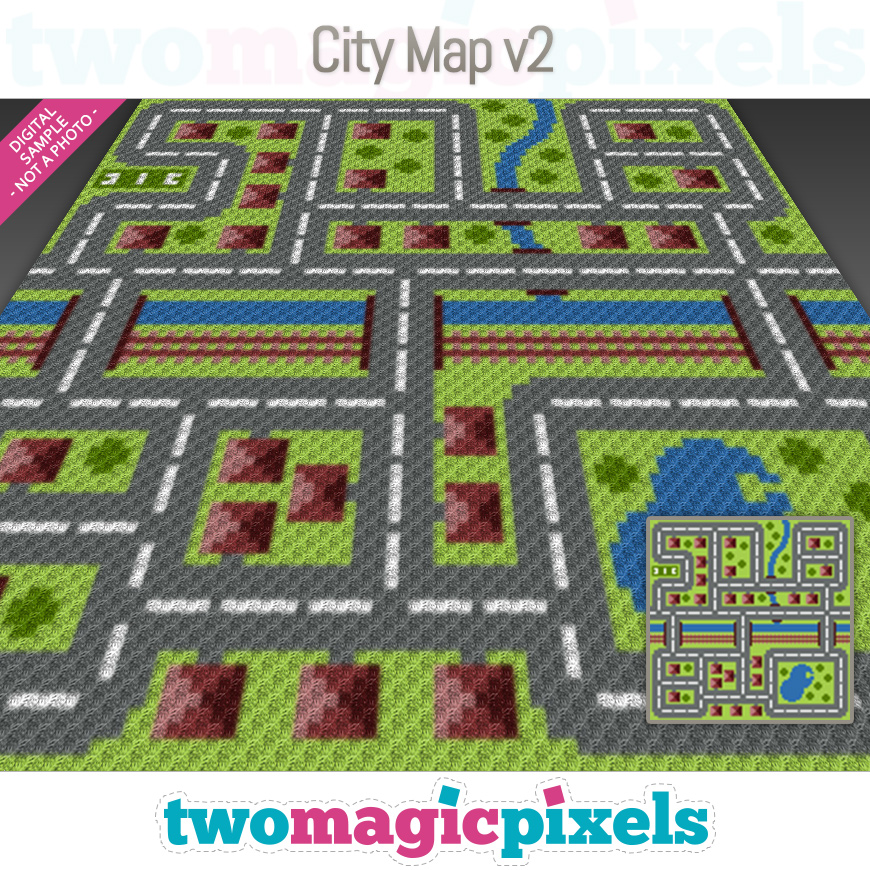 City Map v2 by Two Magic Pixels