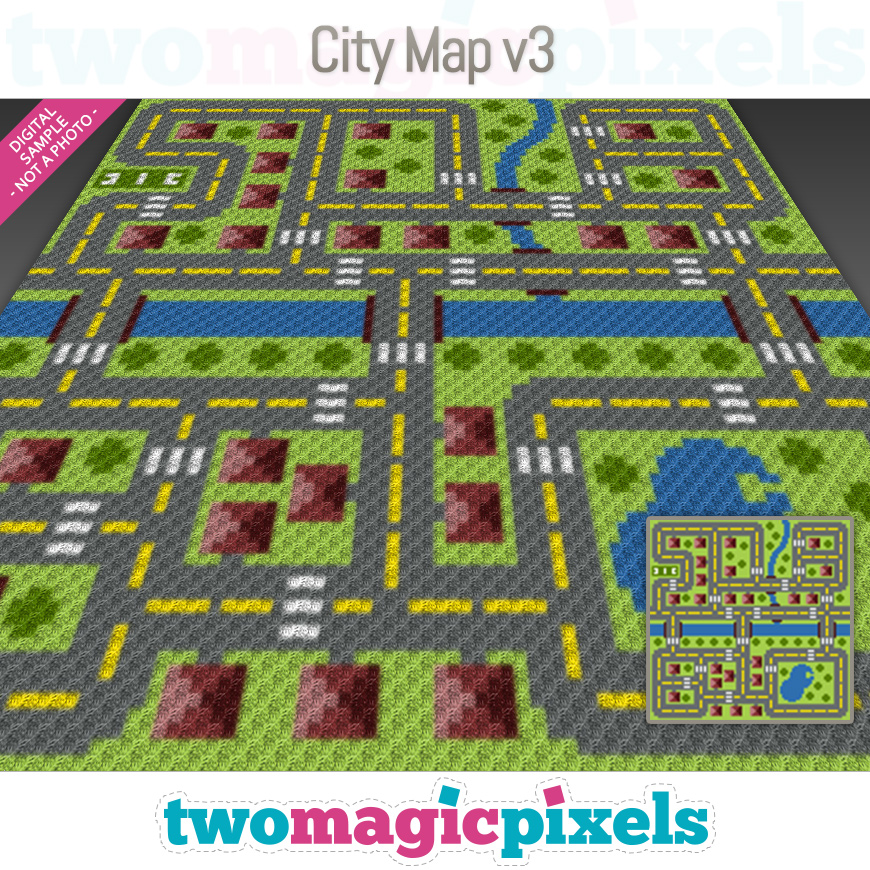 City Map v3 by Two Magic Pixels