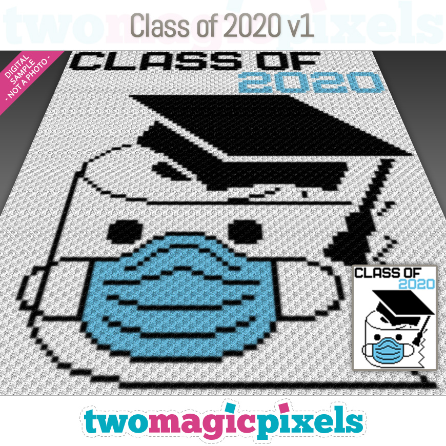 Class of 2020 v1 by Two Magic Pixels
