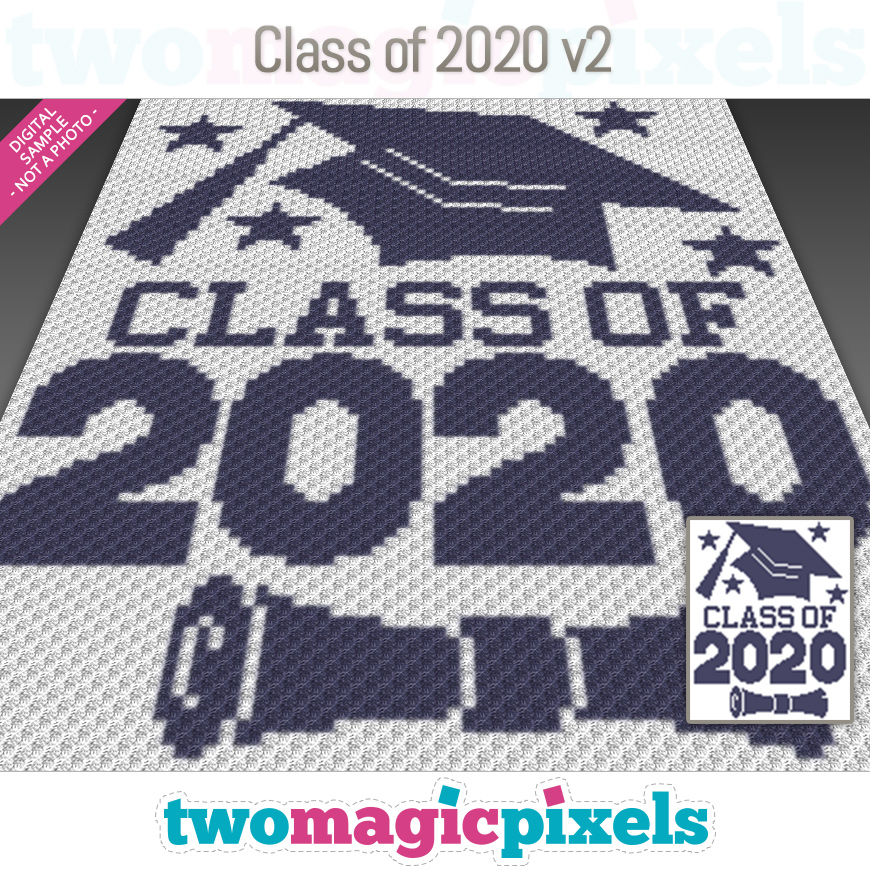 Class of 2020 v2 by Two Magic Pixels