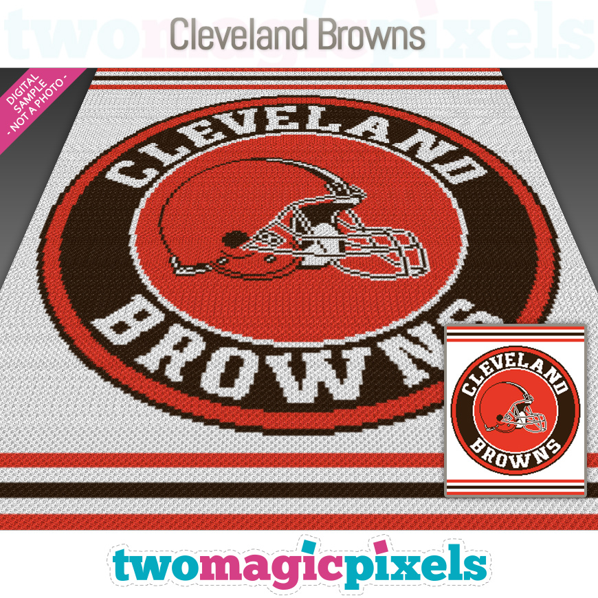 Cleveland Browns by Two Magic Pixels