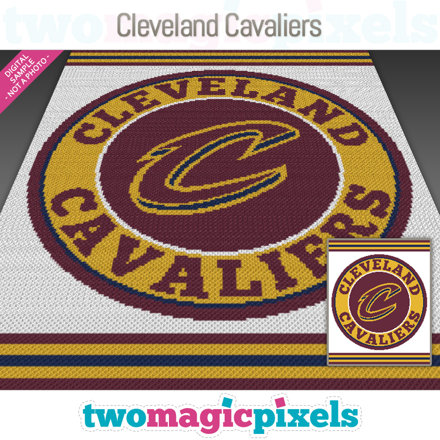 Cleveland Cavaliers by Two Magic Pixels