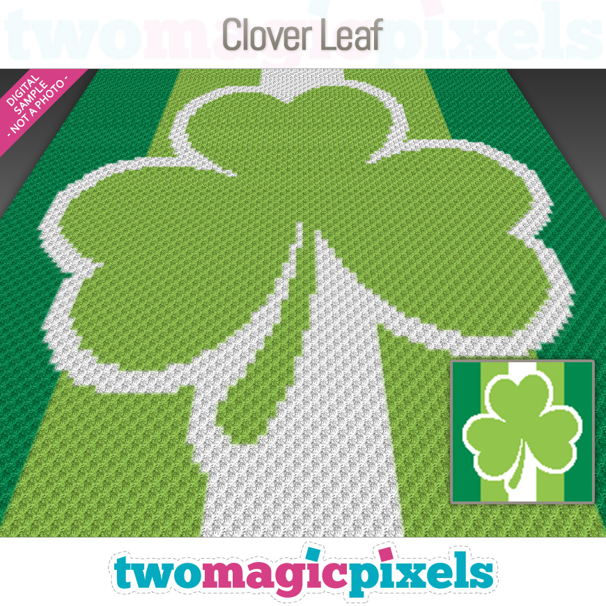 Clover Leaf by Two Magic Pixels