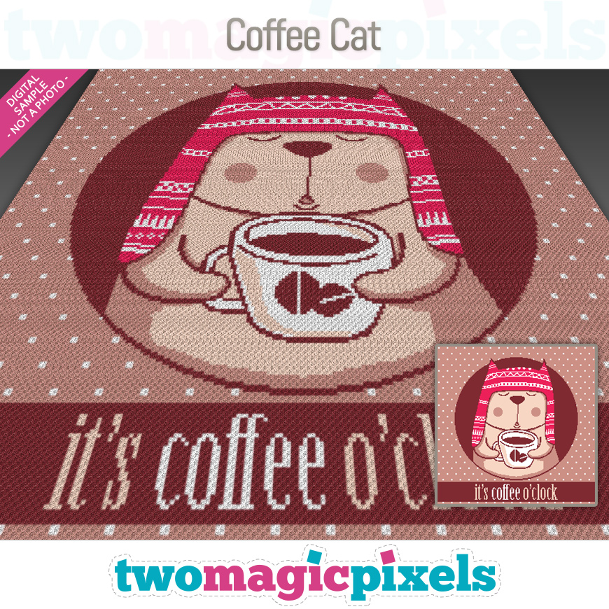 Coffee Cat by Two Magic Pixels
