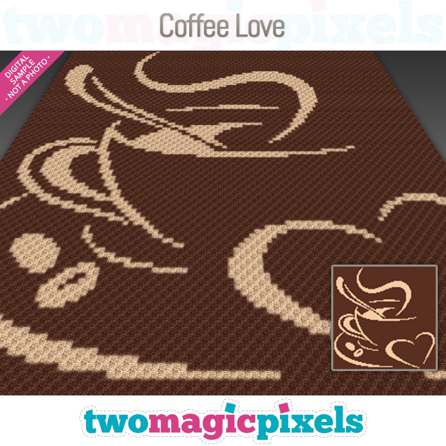 Coffee Love by Two Magic Pixels