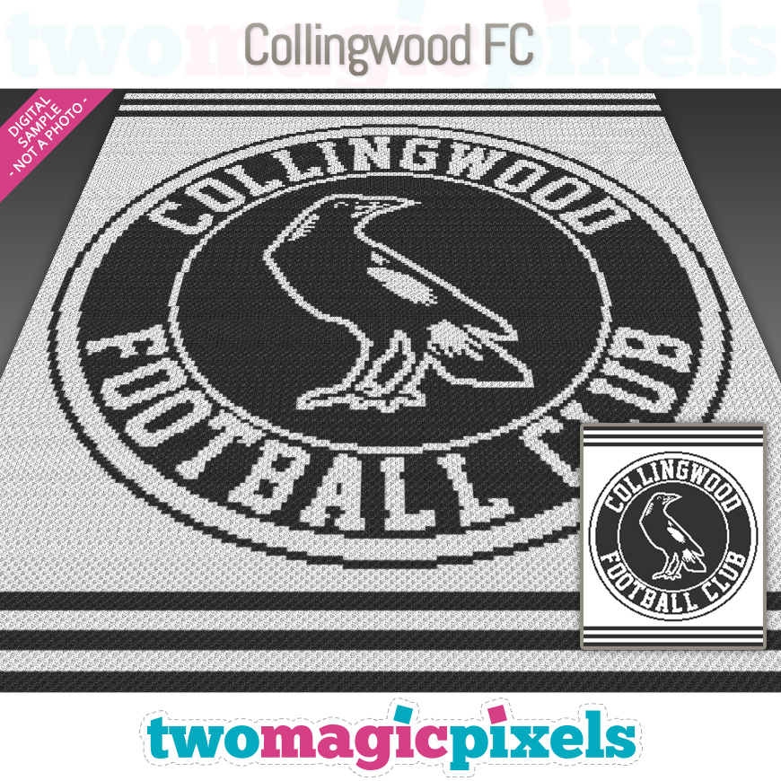 Collingwood FC by Two Magic Pixels