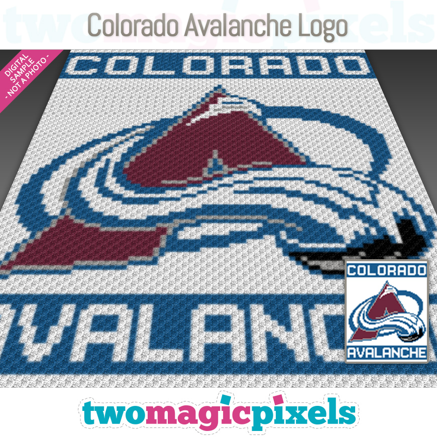 Colorado Avalanche Logo by Two Magic Pixels