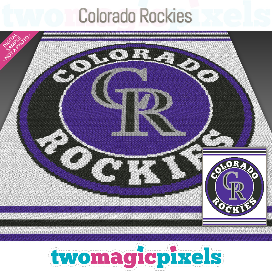 Colorado Rockies by Two Magic Pixels
