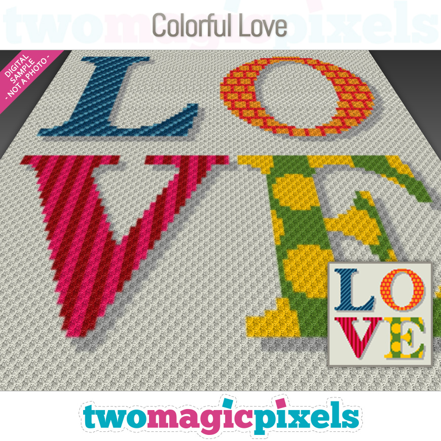 Colorful Love by Two Magic Pixels