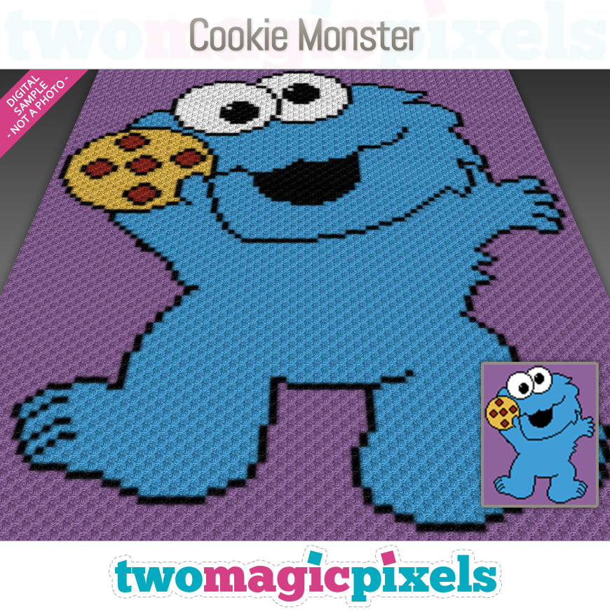 Cookie Monster by Two Magic Pixels