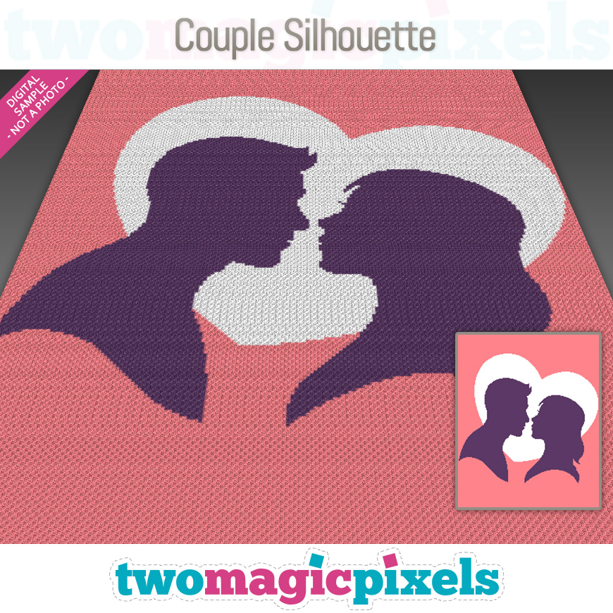 Couple Silhouette by Two Magic Pixels