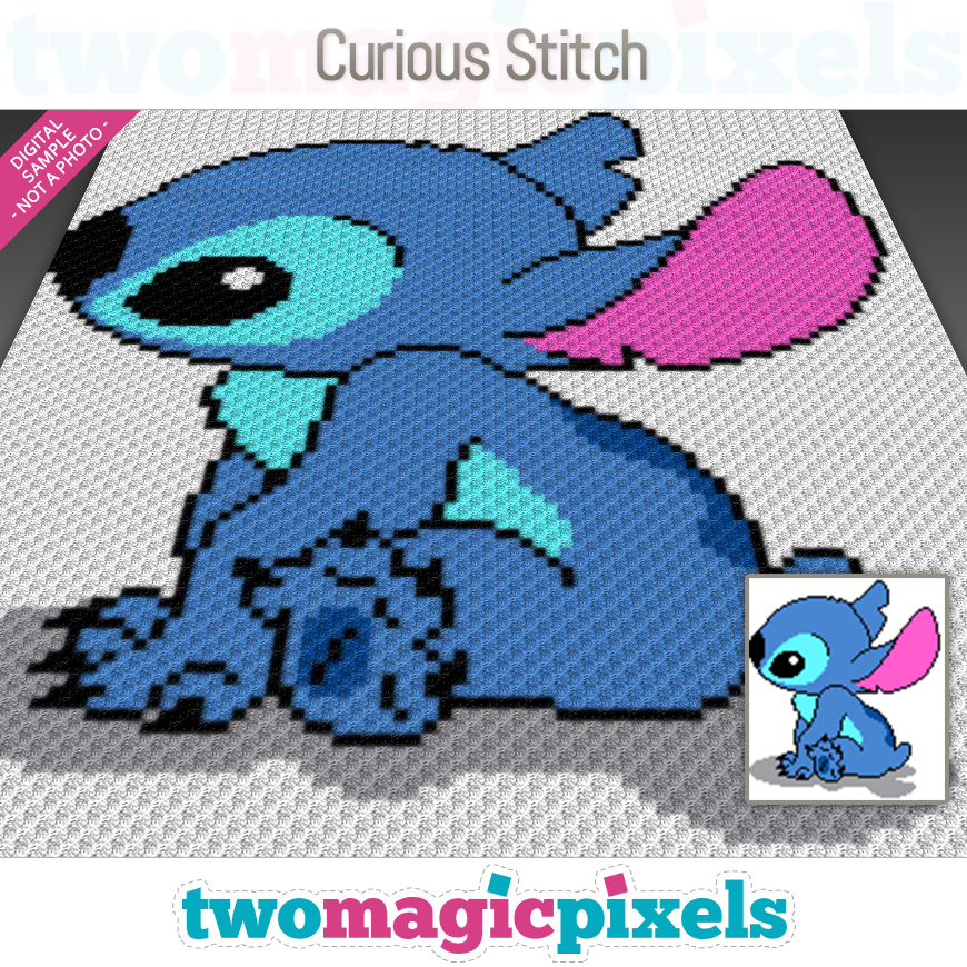 Curious Stitch by Two Magic Pixels