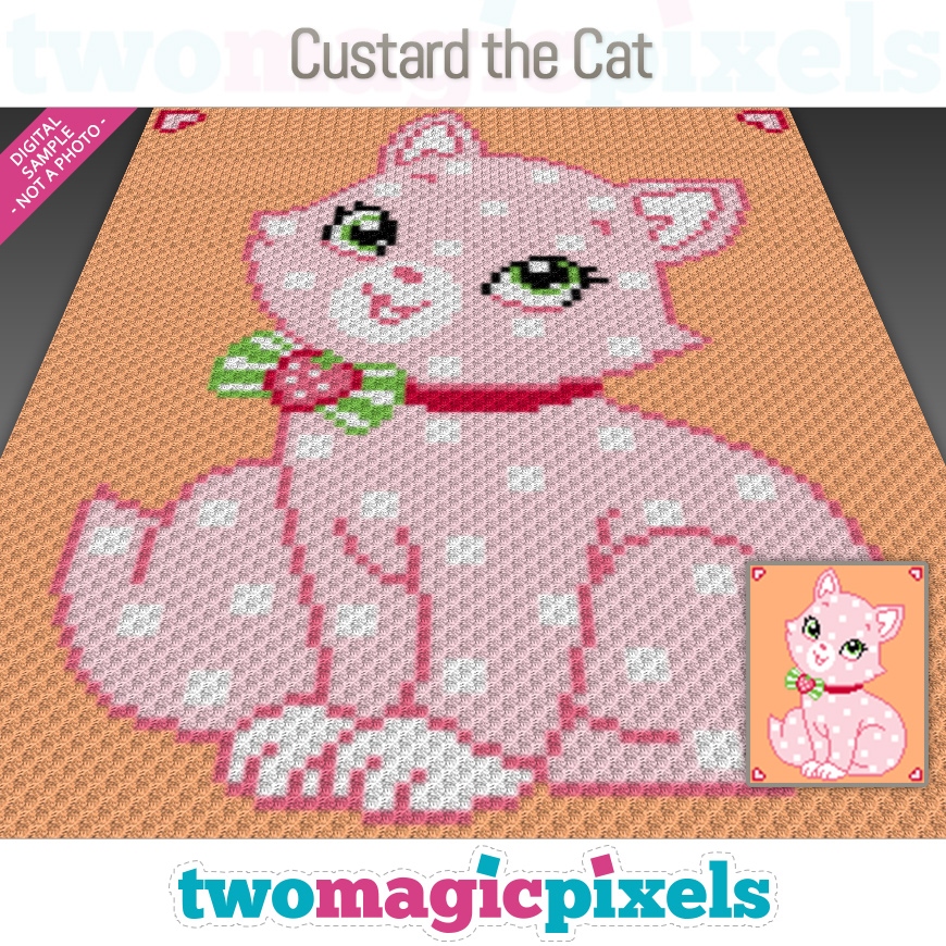 Custard the Cat by Two Magic Pixels